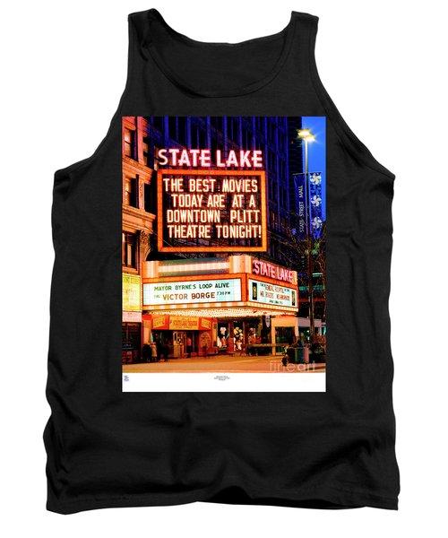 State-lake Theater Tank Top