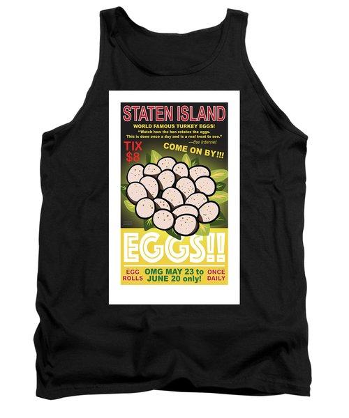Staten Islands Eggs Tank Top