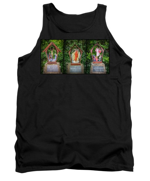Stations Of The Cross 4 Tank Top