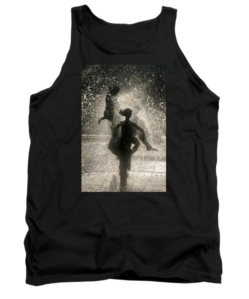 Tank Top featuring the photograph Statue In Rostock, Germany by Jeff Burgess