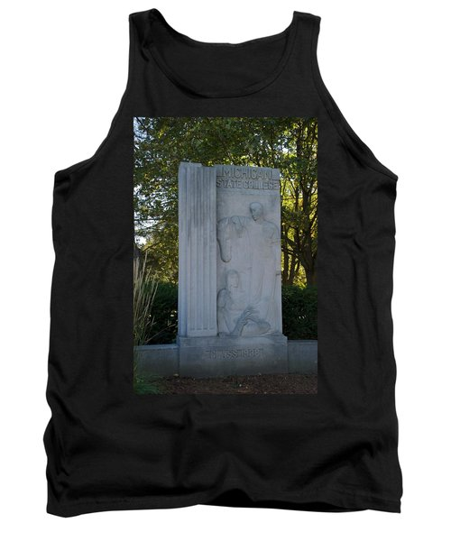 Statue Tank Top by Joseph Yarbrough