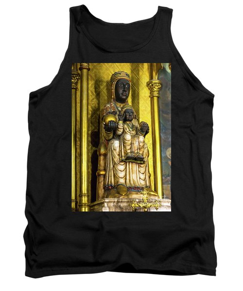Statue Of The Virgin Mary Tank Top