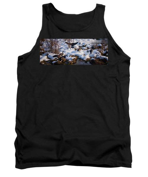 Tank Top featuring the photograph Staying Put by Albert Seger