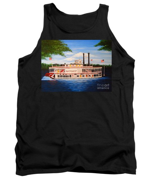 Steamboat On The Mississippi Tank Top