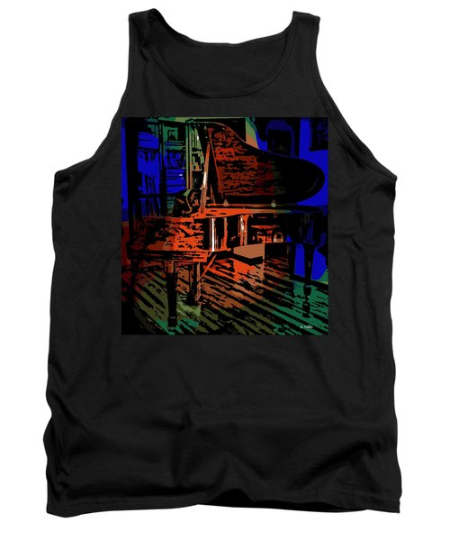 Steinway Piano Tank Top by George Pedro