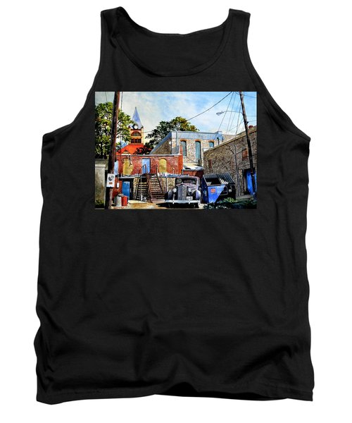 Stephenville Alley  Tank Top