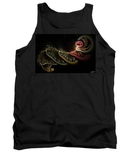 Stepping Through Time Tank Top by Casey Kotas