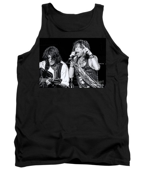 Steven Tyler Croons Tank Top by Traci Cottingham