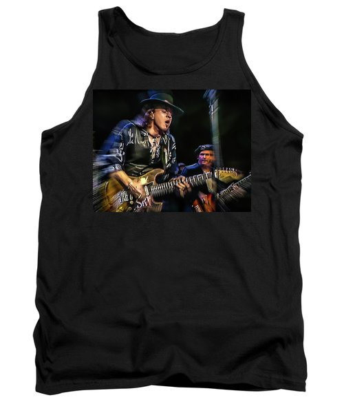 Stevie Ray Vaughan - Couldn't Stand The Weather Tank Top