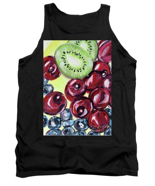 Still Life 130. Cherries Tank Top