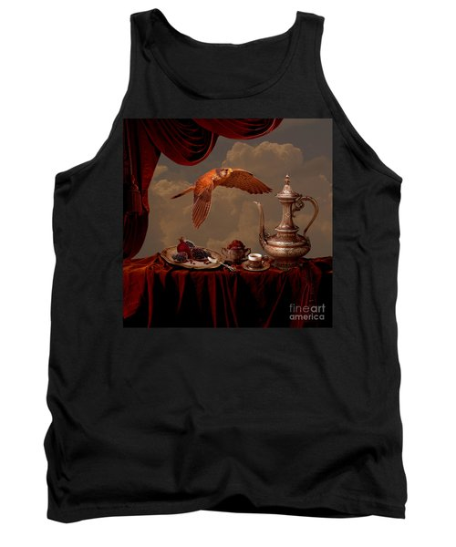 Tank Top featuring the digital art Still Life In Arabic Style by Alexa Szlavics