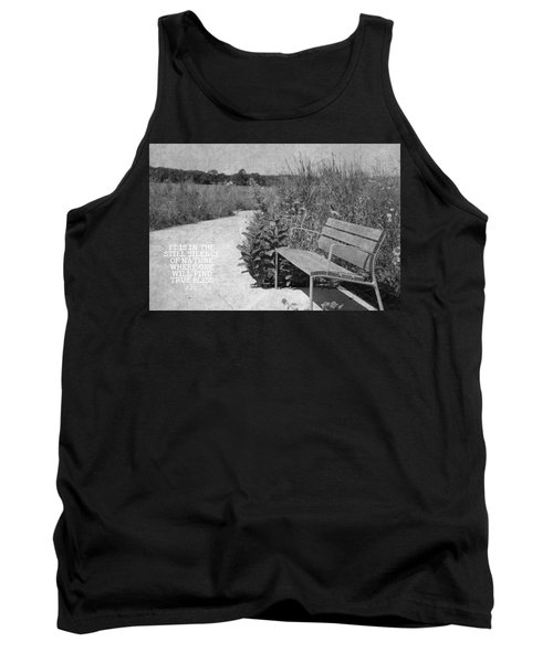 Still Silence Of Nature Tank Top by Inspired Arts