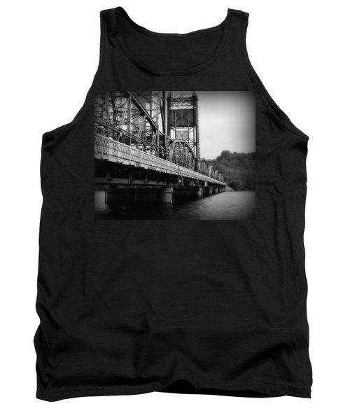 Stillwater Bridge  Tank Top by Perry Webster