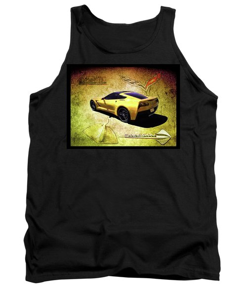 Stingray Tank Top by Michael Cleere