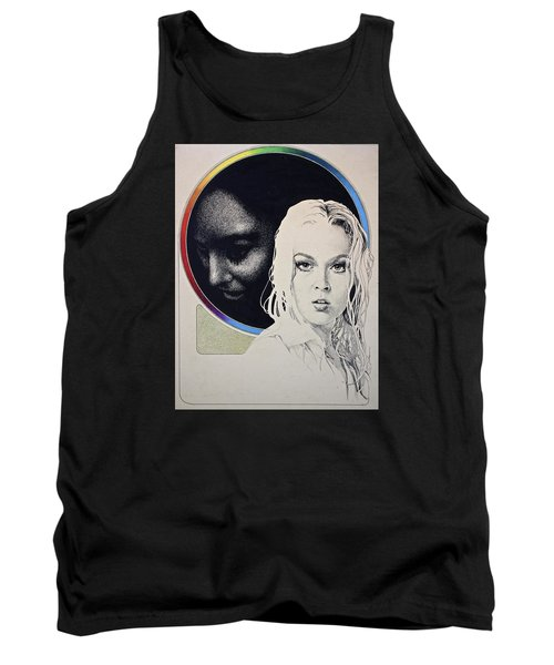 Stipple 1 --over The Hill Tank Top by Cliff Spohn