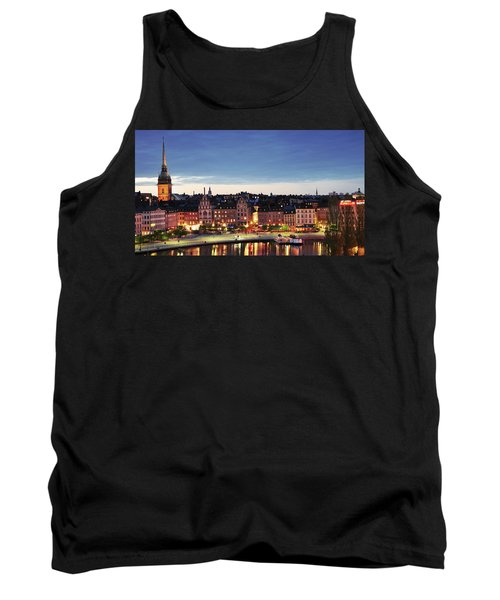 Stockholm By Night Tank Top