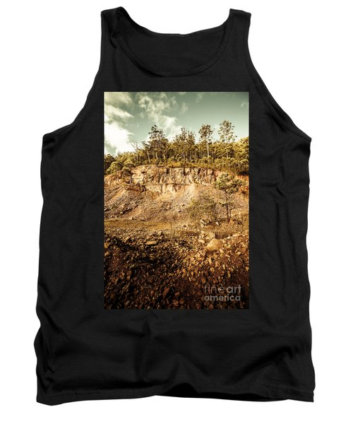 Stone Excavation Pit Tank Top