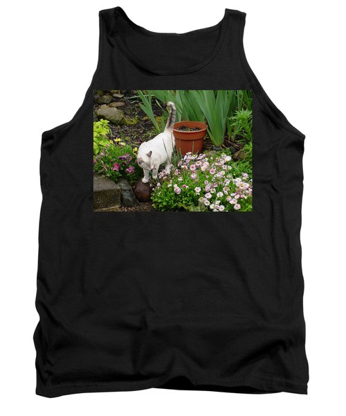 Stop To Smell Flowers Tank Top