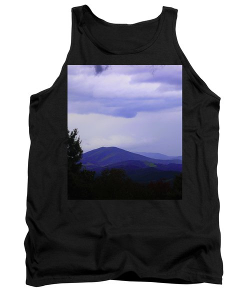 Storm At Lewis Fork Overlook 2014a Tank Top