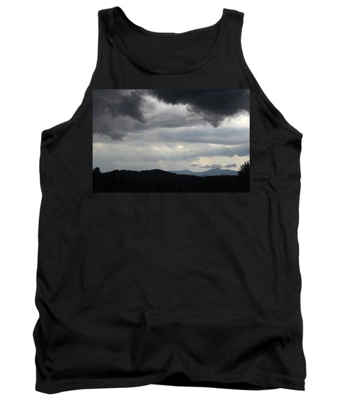 Storm At Lewis Fork Overlook 2014b Tank Top