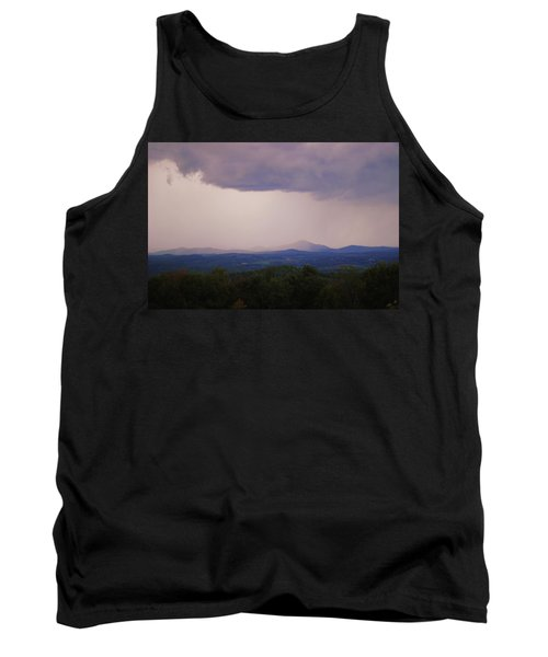 Storm At Lewis Fork Overlook Tank Top