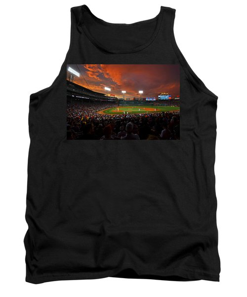 Storm Clouds Over Fenway Park Tank Top