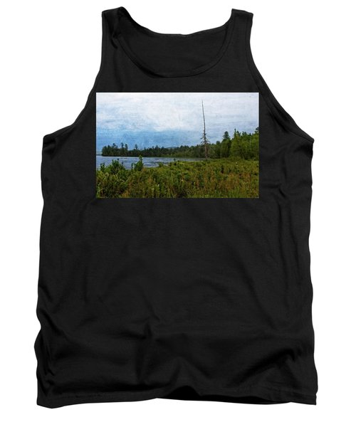 Storm On Raquette Lake Tank Top