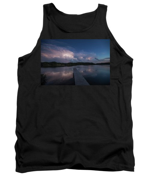 Tank Top featuring the photograph Storm Reflection by Aaron J Groen