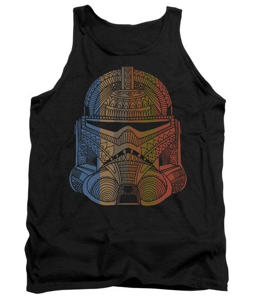 Stormtrooper Helmet - Star Wars Art - Colorful Tank Top