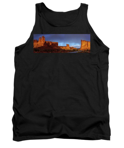 Tank Top featuring the photograph Stormy Desert by Chad Dutson