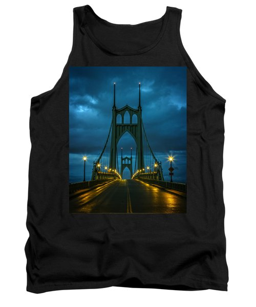 Stormy St. Johns Tank Top by Wes and Dotty Weber