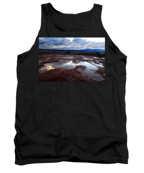 Tank Top featuring the photograph Stormy Sunrise by Harry Spitz