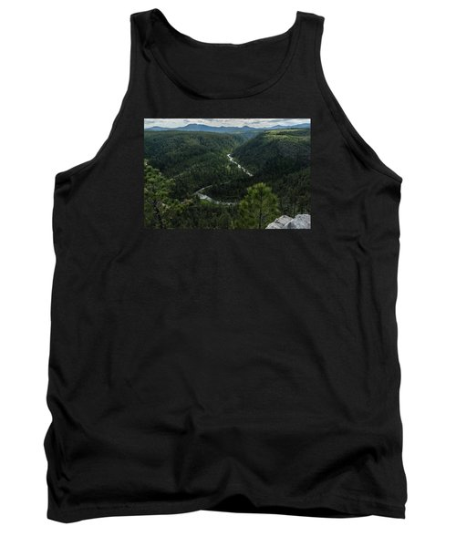 Stratobowl Overlook On Spring Creek Tank Top