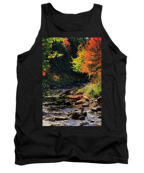 Tank Top featuring the photograph Stream by Tom Prendergast