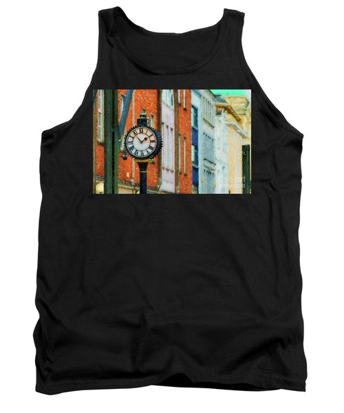 Street Clock In Cork Tank Top