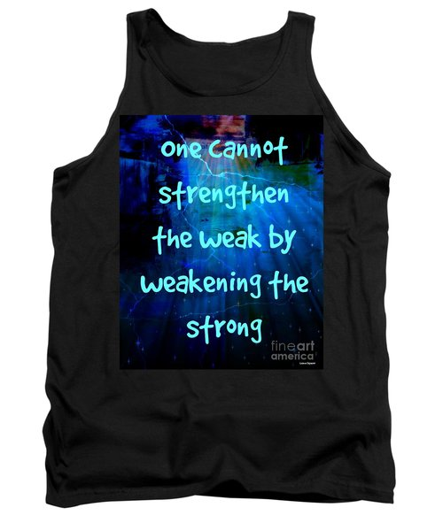 Strength V Weakness Tank Top