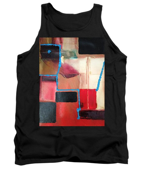 String Theory Abstraction Tank Top