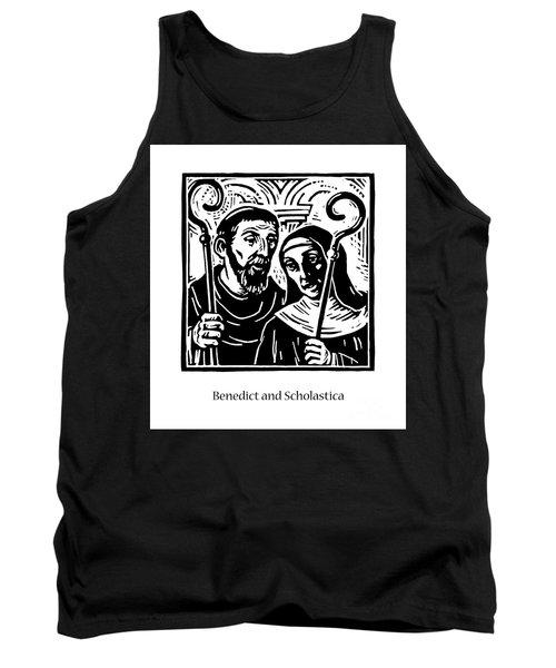 Sts. Benedict And Scholastica - Jlbas Tank Top