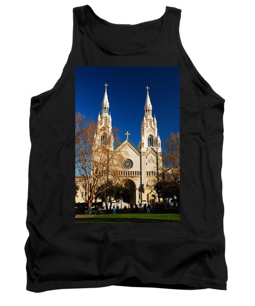 Sts Peter And Paul Tank Top by James Kirkikis