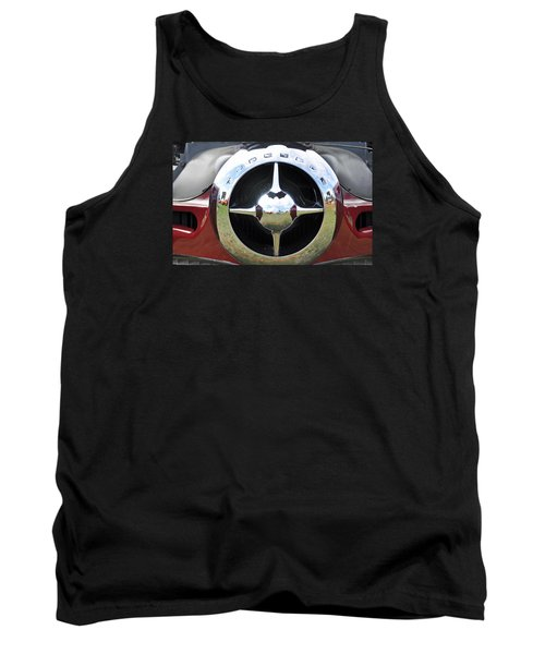 Tank Top featuring the photograph Studebaker Chrome by Glenn Gordon
