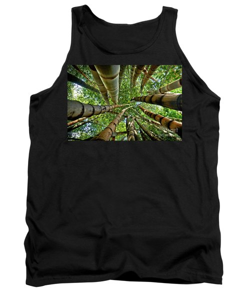 Stunning Bamboo Forest - Color Tank Top