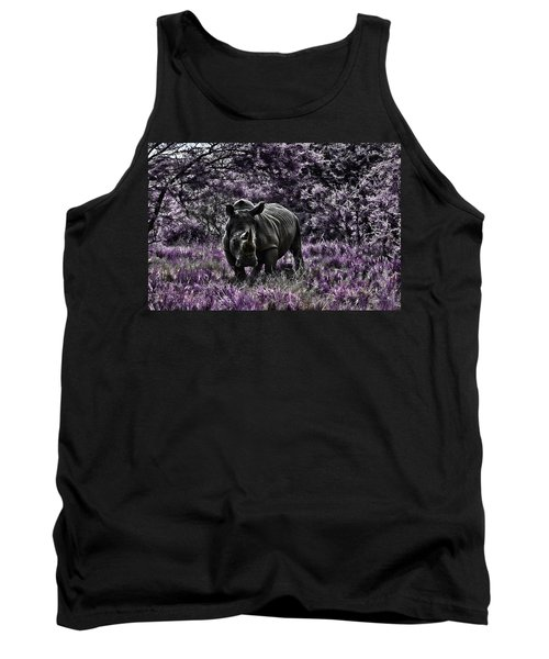Styled Environment-the Modern Trendy Rhino Tank Top
