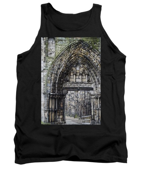 Tank Top featuring the photograph Subtle Shades Of Stone Holyrood Edinburgh Scotland by Sally Ross