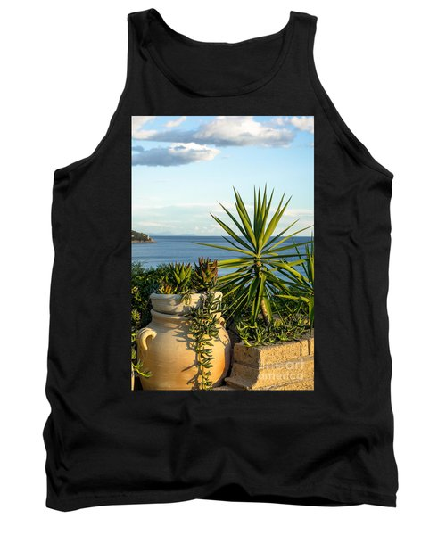 Succulents By The Sea Tank Top
