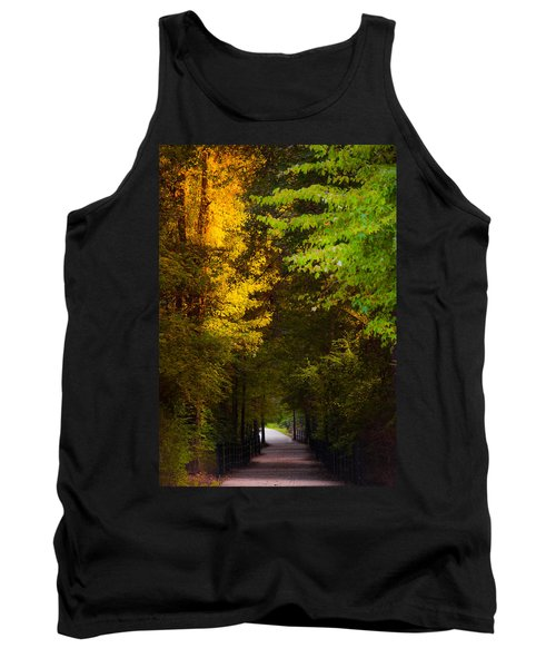 Summer And Fall Collide Tank Top by Parker Cunningham