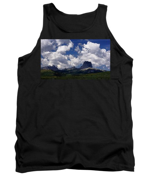 Summer Day At Chief Mountain Tank Top