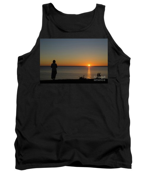 Tank Top featuring the photograph Summer Evening By The Coast by Kennerth and Birgitta Kullman