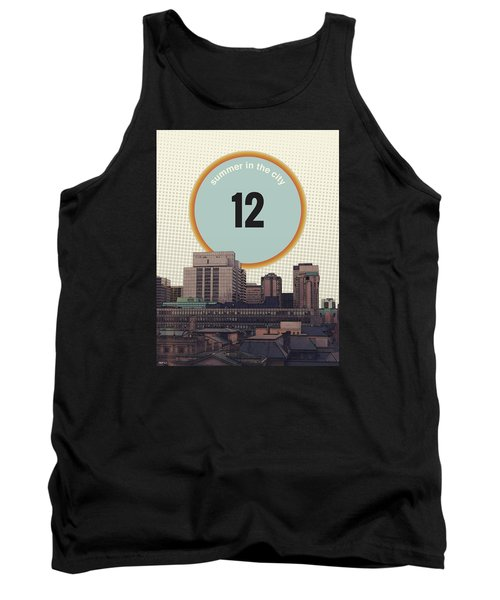 Tank Top featuring the photograph Summer In The City by Phil Perkins