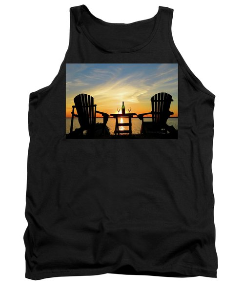 Summer In The River Tank Top