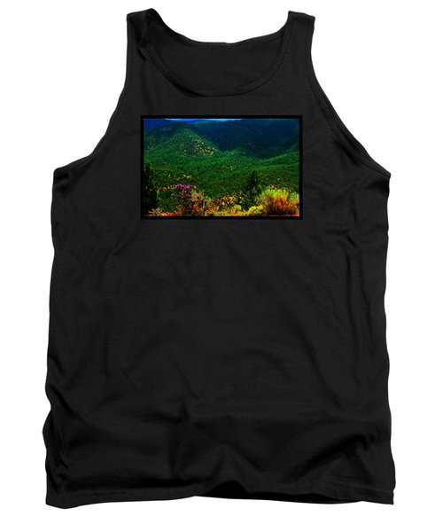 Tank Top featuring the photograph Summer In Upper Pacheco Canyon by Susanne Still